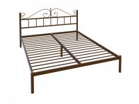 Кровать Надежда Lux plus черная