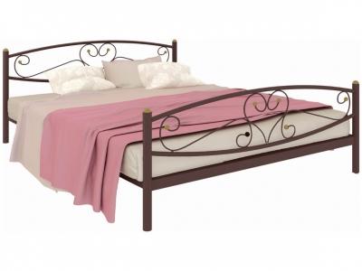 Кровать Каролина Plus коричневая