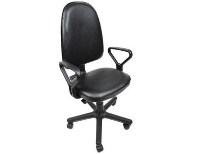 Компьютерное кресло Престиж Топаз Кожзам Черный