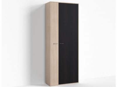 Шкаф широкий правый Крокус ПР-ШС-1-3 800х334х2100 Дуб Миланский - Дуб девонширский