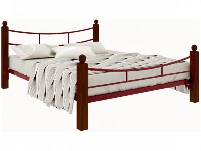 Кровать София Lux plus красная