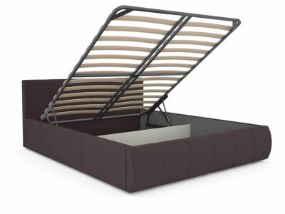 Кровать Афина 2812 с подъемным механизмом темно-коричневый