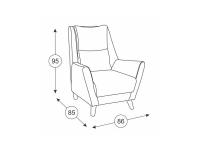 Кресло для отдыха Дали ТК 234