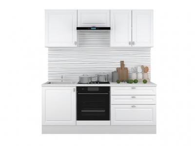 Кухонный гарнитур Ева 2000 Белый Софт