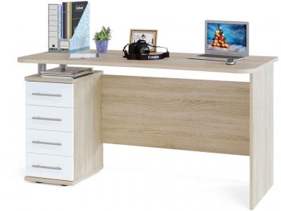Компьютерный стол Сокол КСТ-105.1 Дуб Сонома/Белый