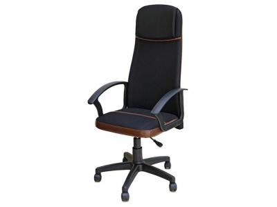 Офисное кресло Океан в сетке чёрный-коричневый