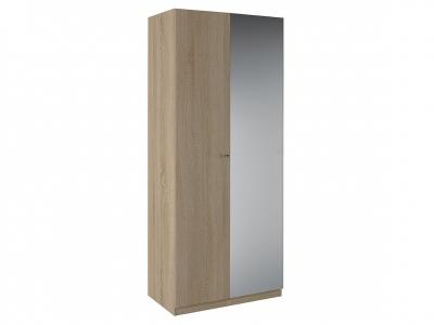 Шкаф 2 двери зеркало Нью Квадро К 4.0.8