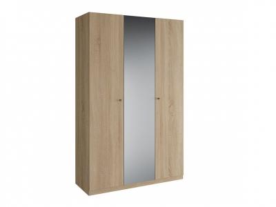 Шкаф 3 двери зеркало Нью Квадро с зеркалом К 4.0.7