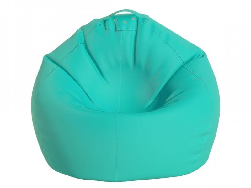 Кресло-мешок Малыш нейлон бирюзовый