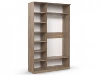 Шкаф 3-х створчатый Дуэт Люкс 1415х450х2300 венге