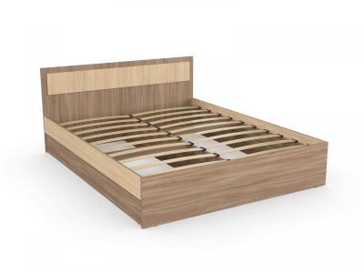 Кровать София 140 ясень шимо с основанием