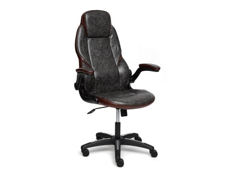 Кресло Bazuka Серый - Коричневый