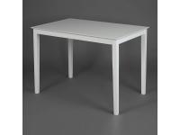 Обеденный комплект эконом Хадсон Белый 2-1 - ткань Кремовая