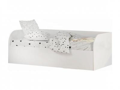 Кровать детская с подъёмным механизмом КРП-01 Трио белый