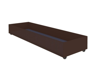 Ящик для белья выкатной Милсон коричневый 1800х540х210 мм